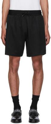 Givenchy Black Jacquard Shorts