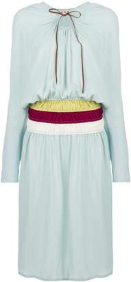Marni cinched waist casual dress