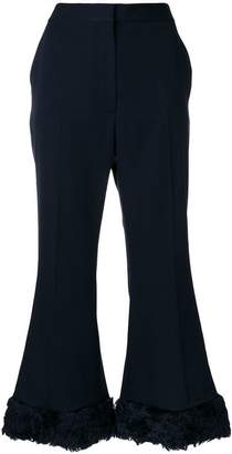 Stella McCartney Fur Free Fur Malina trousers