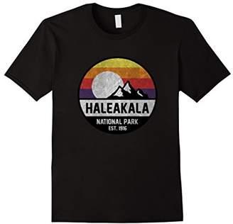 Haleakala National Park Retro Sunset Vintage T-Shirt