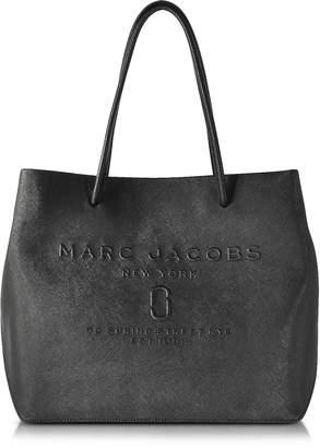 Marc Jacobs Black Saffiano Leather Logo Shopper