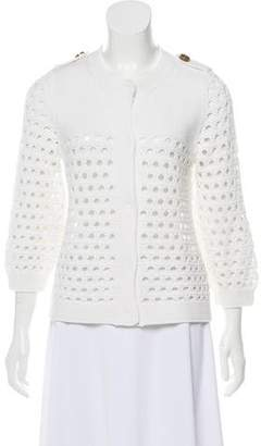 See by Chloe Crew Neck Knit Cardigan