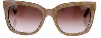 Dolce & Gabbana Gradient Printed Sunglasses