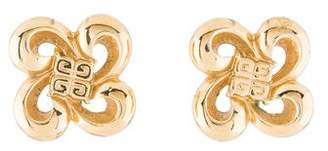 Givenchy Swirl Clip-On Earrings