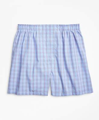 Brooks Brothers Traditional Fit Double Windowpane Boxers