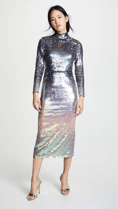 5ad274fcbbdbe Temperley London Ruth Sequin Fitted Dress