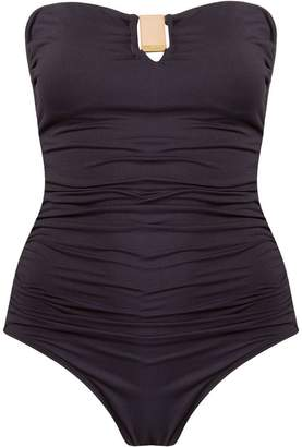 BRIGITTE draped swimsuit