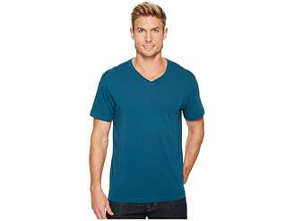 Agave Denim Agave Supima Vee Neck Short Sleeve Tee Men's T Shirt