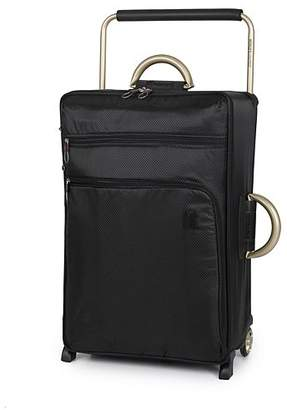George it Luggage World's Lightest Trolley Case Black - Medium