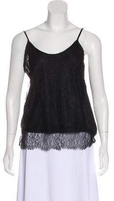 Clu Lace-Trimmed Sleeveless Top