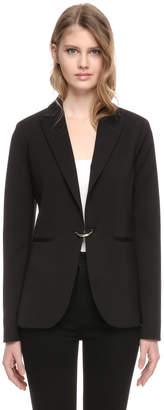 Soia & Kyo EUDORA slim fit blazer with notched collar