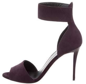 Giuseppe Zanotti Ankle Strap Suede Sandals