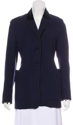 Hermès Wool Structured Blazer