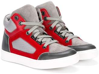 Lanvin Enfant hi-top sneakers