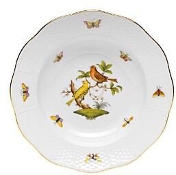 Rothschild Bird Rimmed Soup Bowl, Motif #6