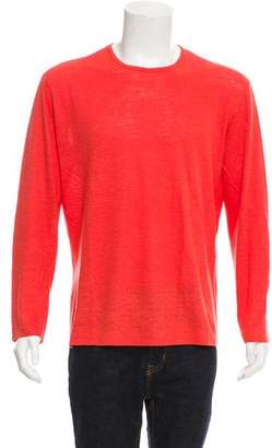 Malo Woven Long Sleeve T-Shirt