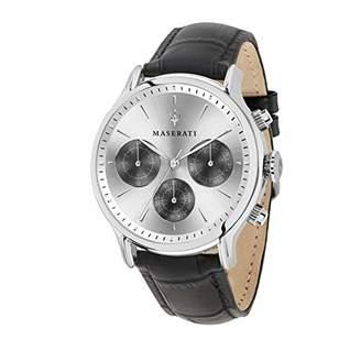 Epoca MASERATI Men's ' Quartz Stainless Steel and Leather Fashion Watch