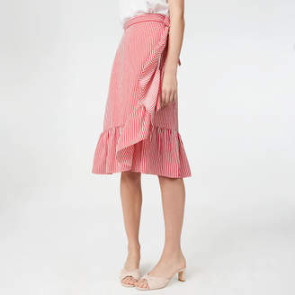 Club Monaco Tedon Wrap Skirt