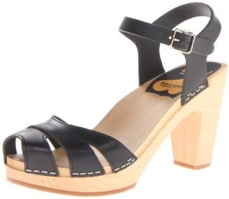 Swedish Hasbeens Women's Suzanne Heeled Sandal