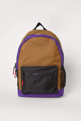 H&M Backpack with Laptop Sleeve - Yellow