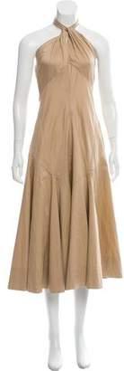 Ralph Lauren Cutout Midi Dress