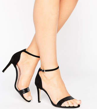 Barely There Dune Wide Fit Dune London Wide Fit Heeled Sandals