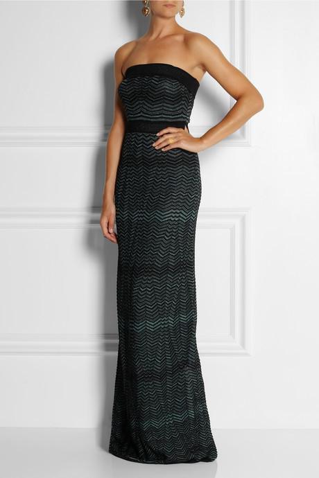 M Missoni Crochet-knit maxi dress