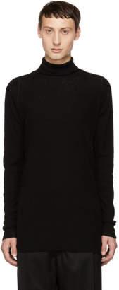 The Viridi-anne Black Wool Turtleneck
