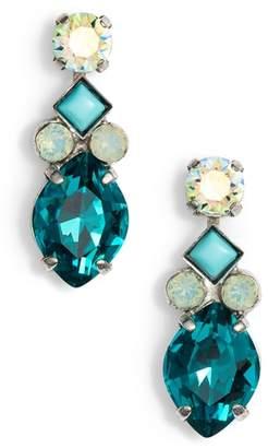 Sorrelli Precious Petal Crystal Drop Earrings