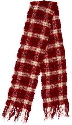 Burberry Merino Wool Check Scarf