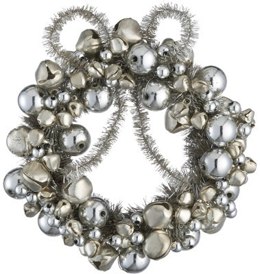 Jingle Door Knob Wreath