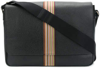 Paul Smith signature stripe messenger bag