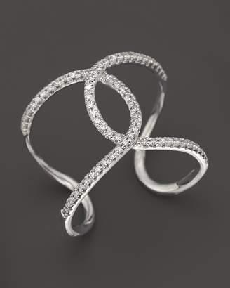 KC Designs Diamond Interlocking Ring in 14K White Gold