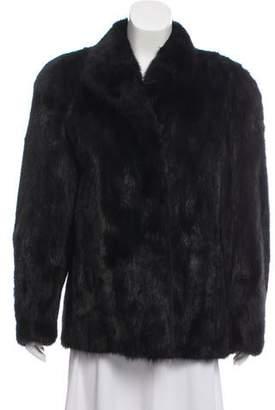 Christian Dior Mink Fur Shawl Collar Jacket