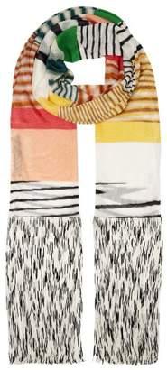 Missoni Striped Fine Knit Scarf - Womens - Multi