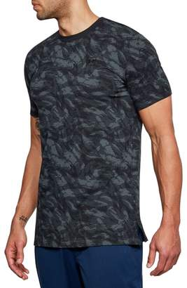 Under Armour Sportstyle Print Charged Cotton(R) Fitted T-Shirt