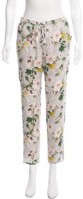 Joie Silk Floral Joggers