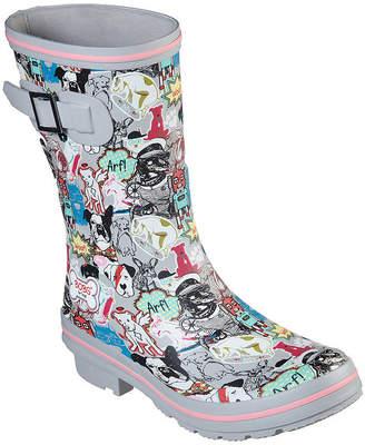Skechers BOBS FROM  Bobs Womens Rain Check Rain Boots Waterproof