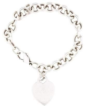 c90b77b56384 Tiffany   Co. Heart Tag Charm Bracelet