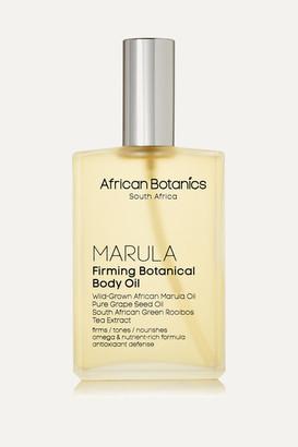 African Botanics Firming Botanical Body Oil, 100ml - Colorless