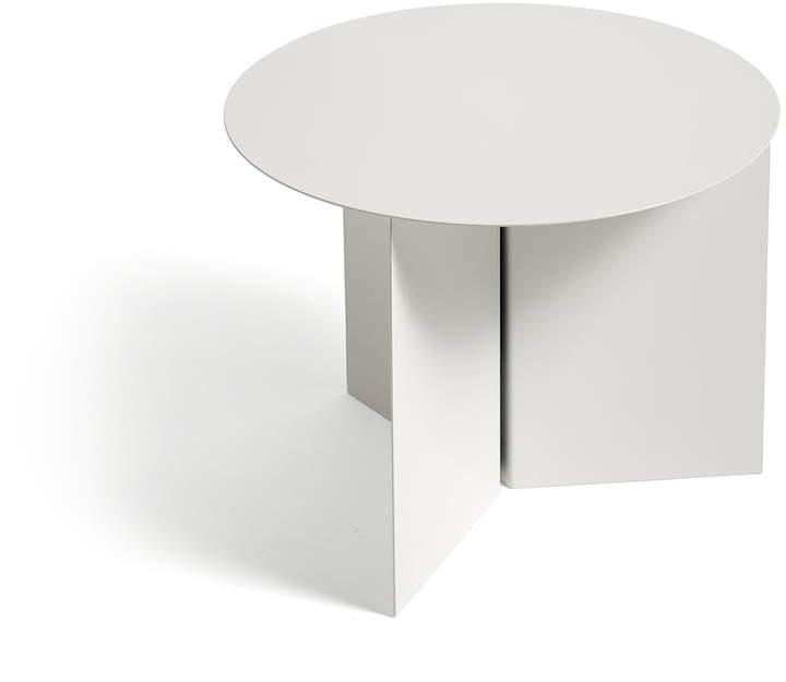 Hay - Slit Table Round, Weiß