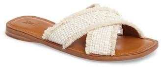 Frye Hayley Frayed Sandal