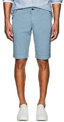 Barneys New York MEN'S COTTON SLIM SHORTS - MD. BLUE SIZE 46