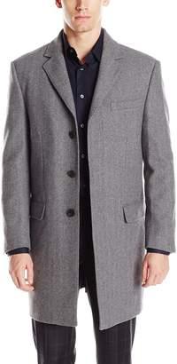 Hart Schaffner Marx Men's Maitland Slim-Fit Wool-Blend Coat