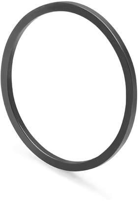 Myia Bonner Black Ultra Skinny Square Stacking Ring