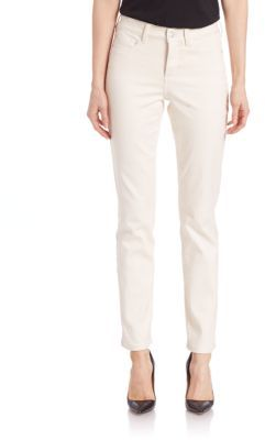 NYDJ Solid Slim-Fit Jeans $114 thestylecure.com