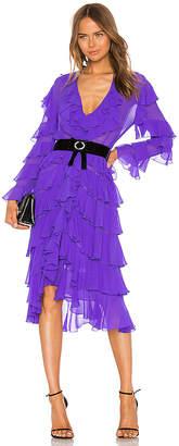 Marianna SENCHINA Ruffle Dress