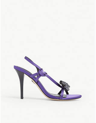 Sandro Olimpia embellished bow strappy sandals