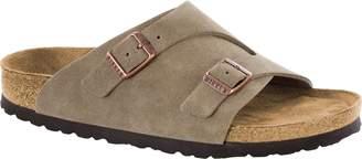 Birkenstock Unisex Zurich Soft Footbed Suede Sandals 12 W / 10 M US