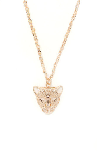 With Love From CA Big Cat Necklace